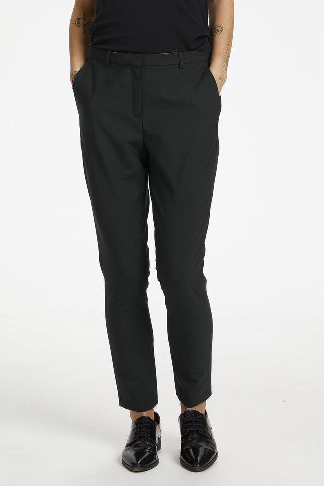 SYDNEY - Spodnie materiałowe - black