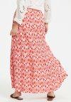 Karen by Simonsen - Maxi skirt - white/red