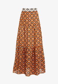 Karen by Simonsen - KATHRIN SKIRT - A-snit nederdel/ A-formede nederdele - honey ginger - 3