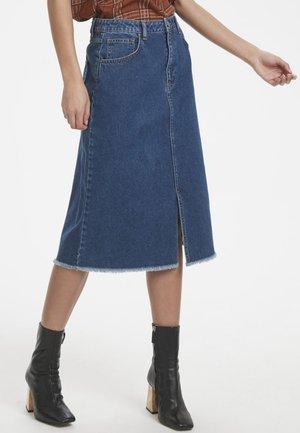 MEEZOKB  - Jeansnederdel/ cowboy nederdele - blue