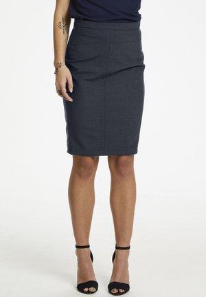 Pencil skirt - dark blue