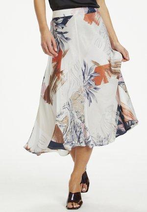 A-line skirt - egret