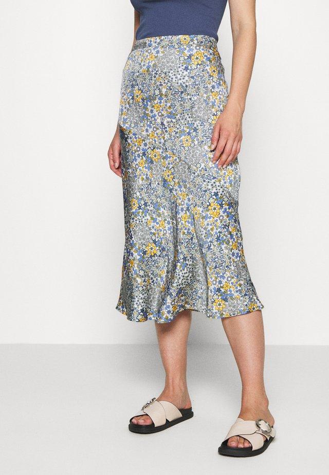 BRENNAKB SKIRT - A-line skirt - blue