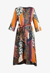 Karen by Simonsen - MOSA TIE DRESS - Day dress - desert palm - 5