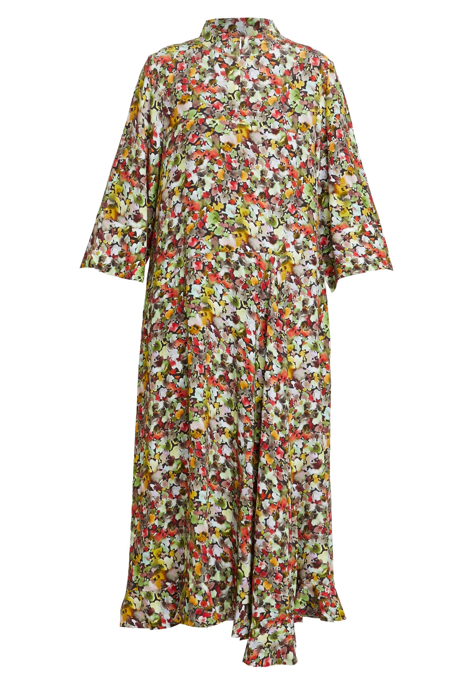 Karen By Simonsen Poppy Dress - Maxiklänning Multi-coloured