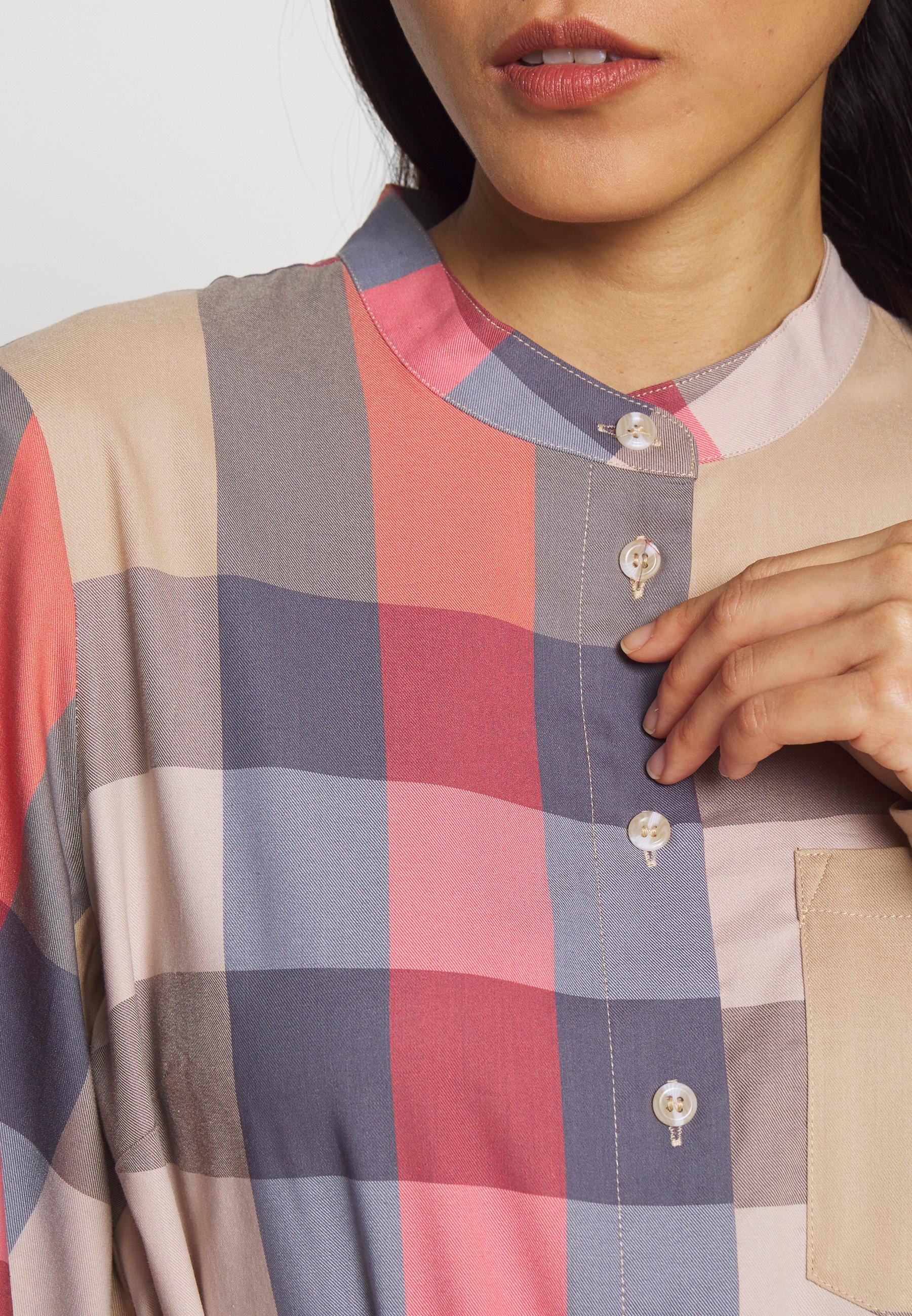 Karen By Simonsen Luck Dress - Shirt Cement