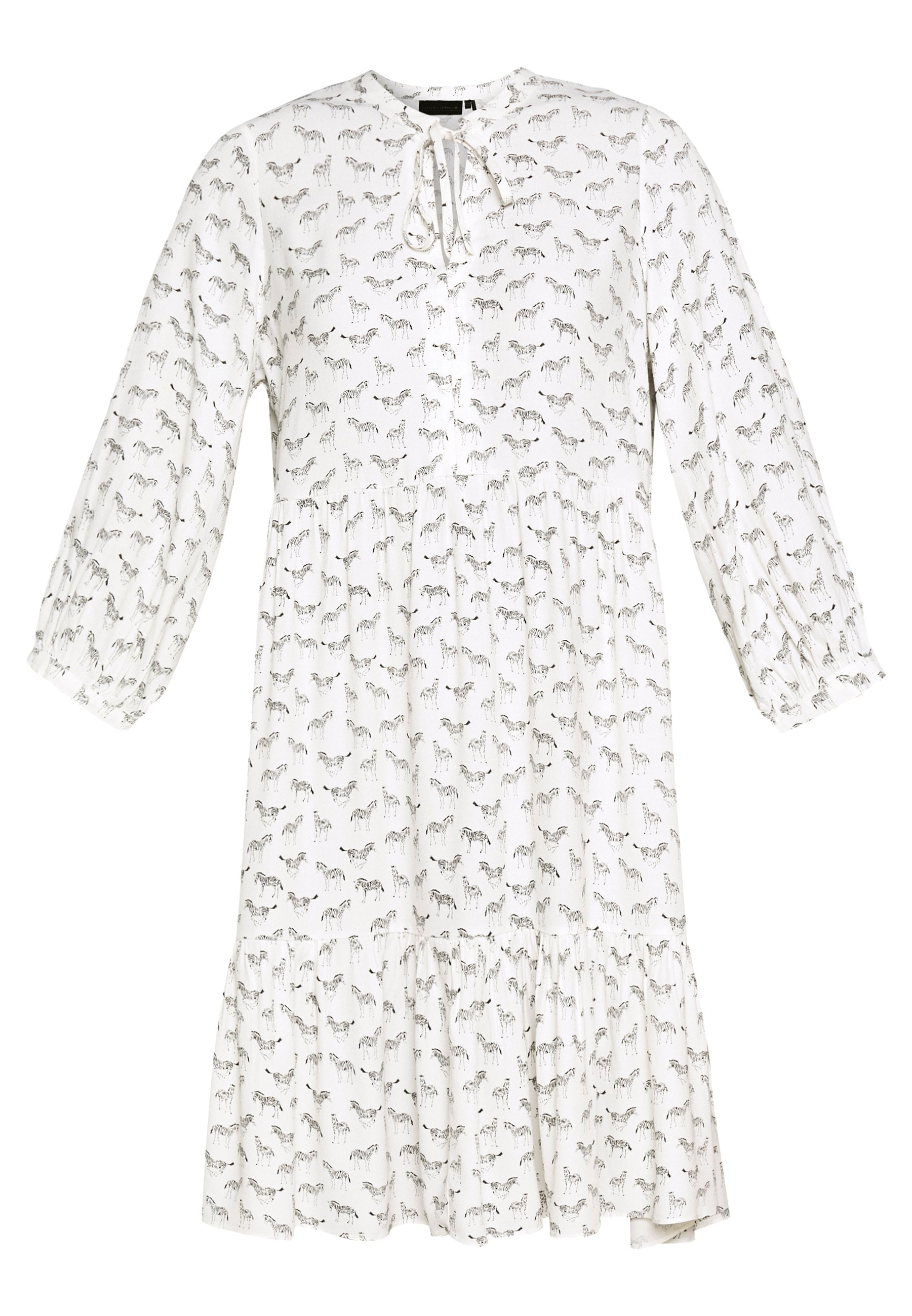 Karen by Simonsen CEBRAKB TUNIC DRESS - Sukienka letnia - egret