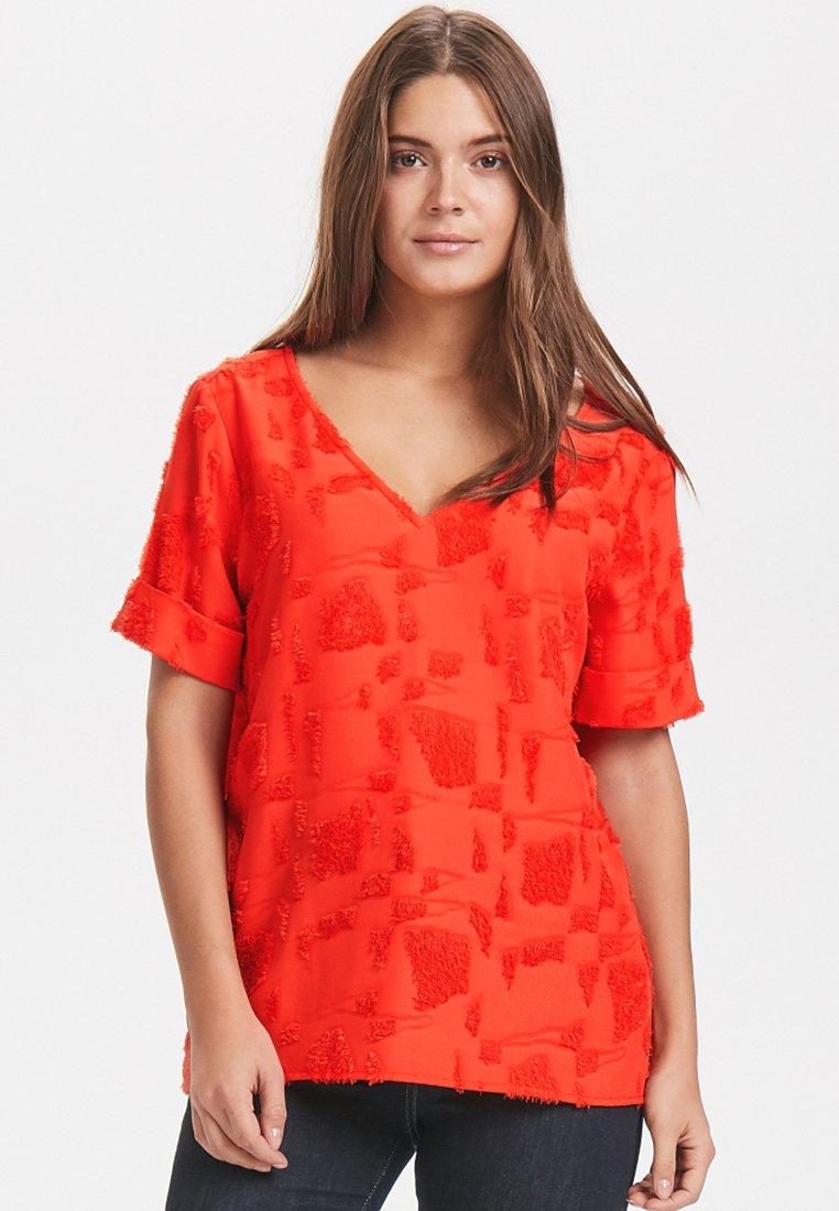 Karen by Simonsen - ILLINOIS - T-Shirt print - red