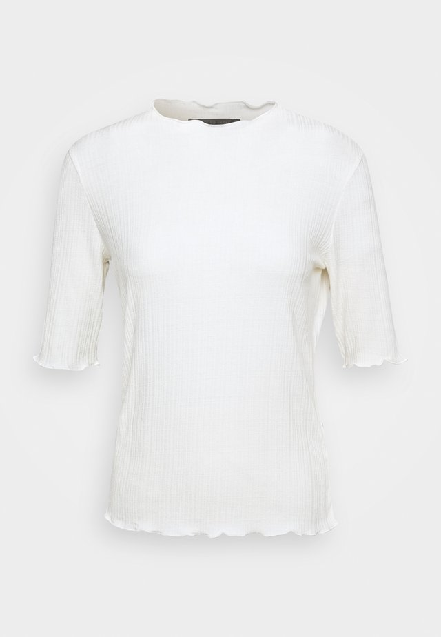 CANDACE TEE - T-shirts med print - egret