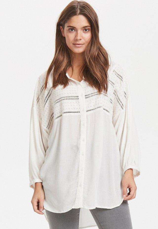 IMONA - Button-down blouse - off-white