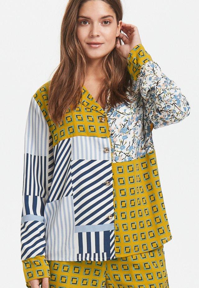 Button-down blouse - Multi colored