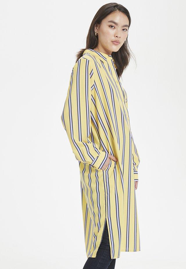 LAZETT - Shirt dress - yellow