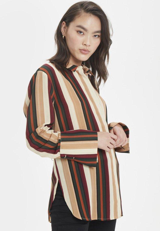 MINNIEKB  - Button-down blouse - caramel