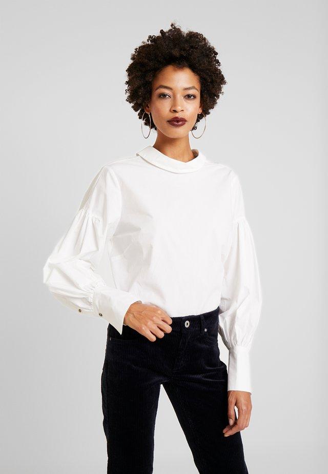 PARAKB - Button-down blouse - snow white