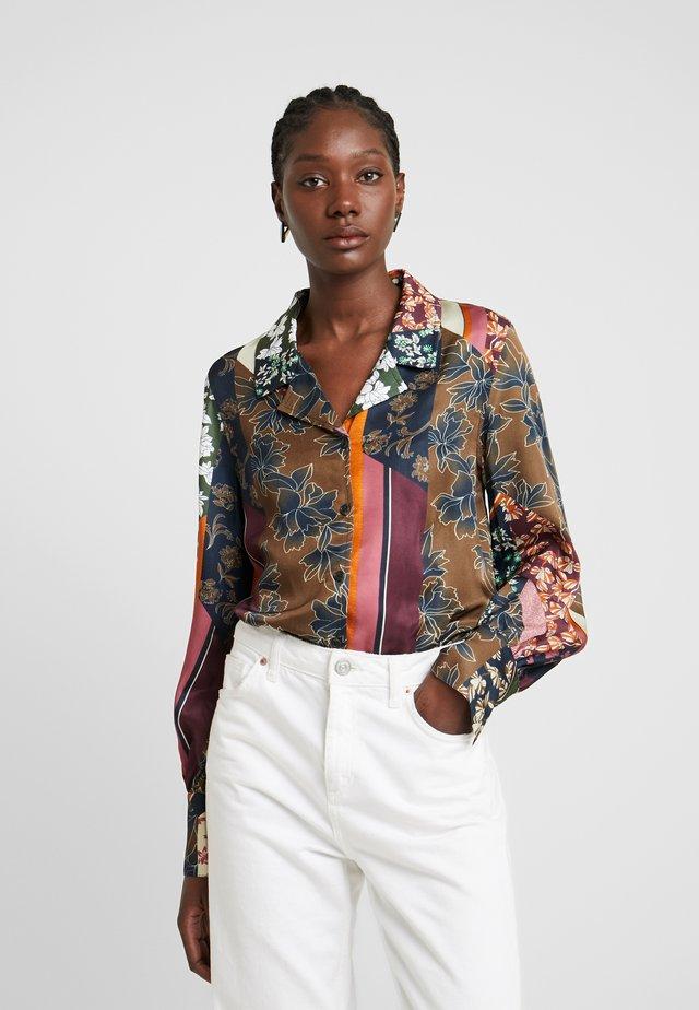 MOSA - Button-down blouse - desert palm