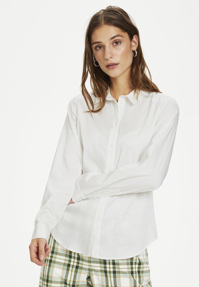 BINAKB  - Button-down blouse - gardenia