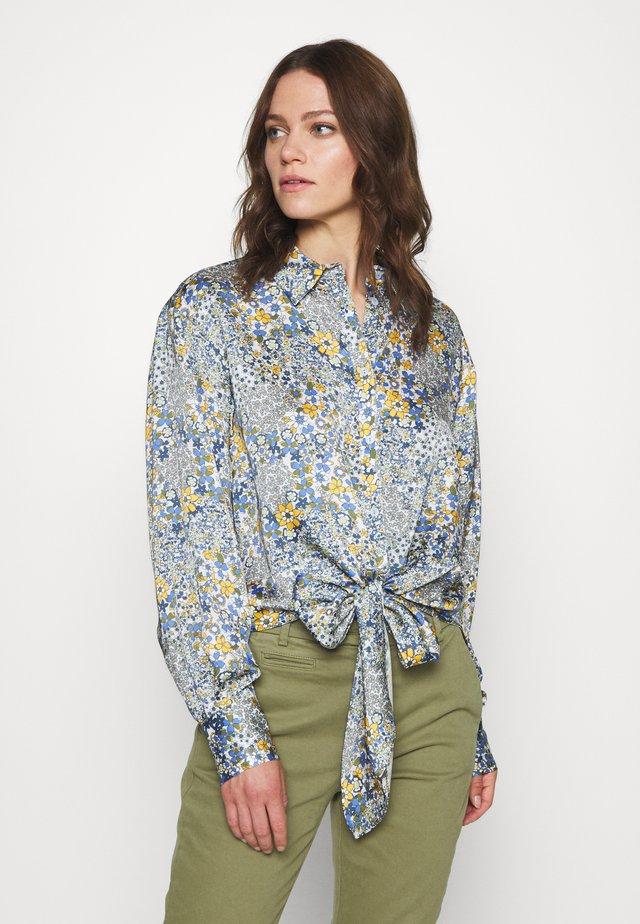 BRENNA - Button-down blouse - blue