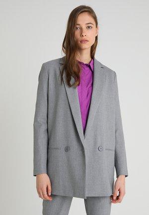 SYDNEY FASHION  - Halflange jas - light grey melange