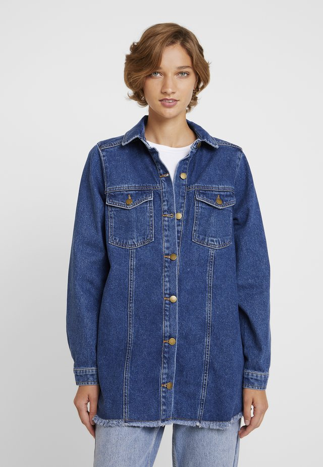 MEEZO - Jeansjacke - denim blue