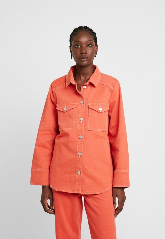 REESEKB - Button-down blouse - chili