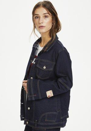PERSPECTIVEKB  - Denim jacket - dark denim blue