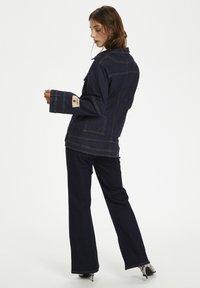 Karen by Simonsen - PERSPECTIVEKB  - Kurtka jeansowa - dark denim blue - 2