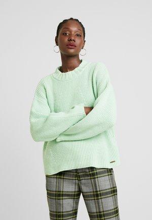 SARA - Sweter - green