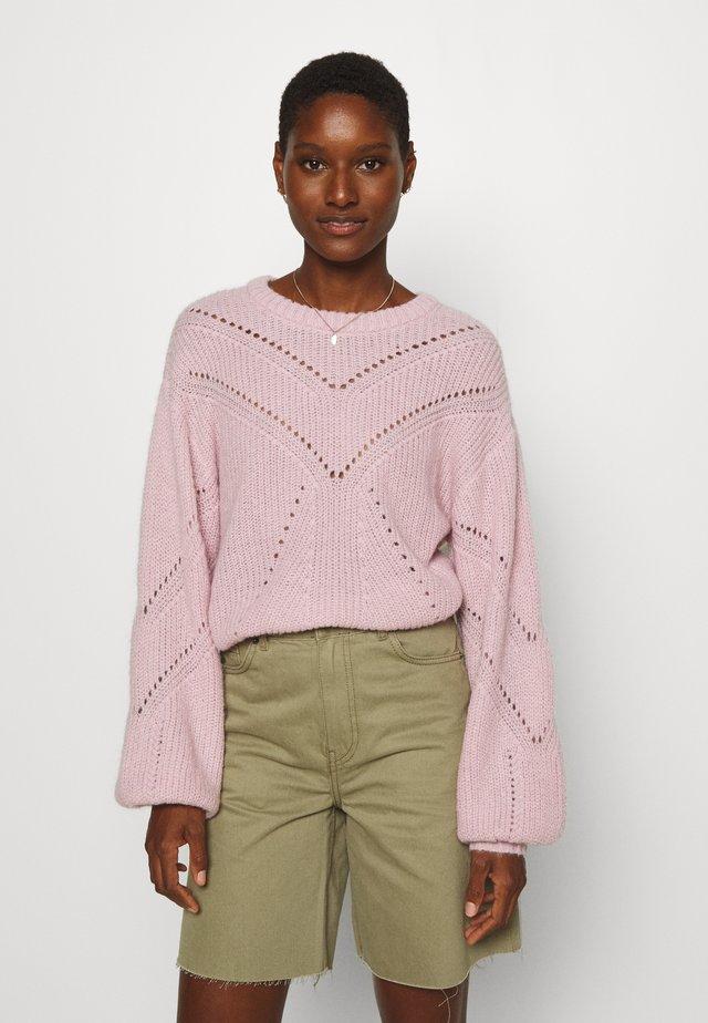 BILLYKB  - Maglione - silver pink