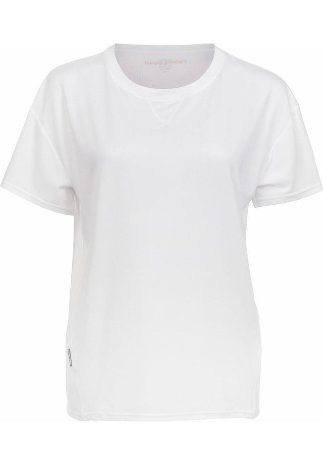 T-shirt basic - bwhite