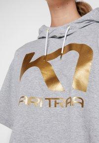 KariTraa - VICKY TEE - T-shirts print - grey melange - 5