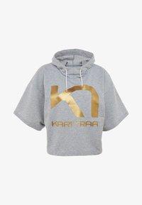 KariTraa - VICKY TEE - T-shirts print - grey melange - 4