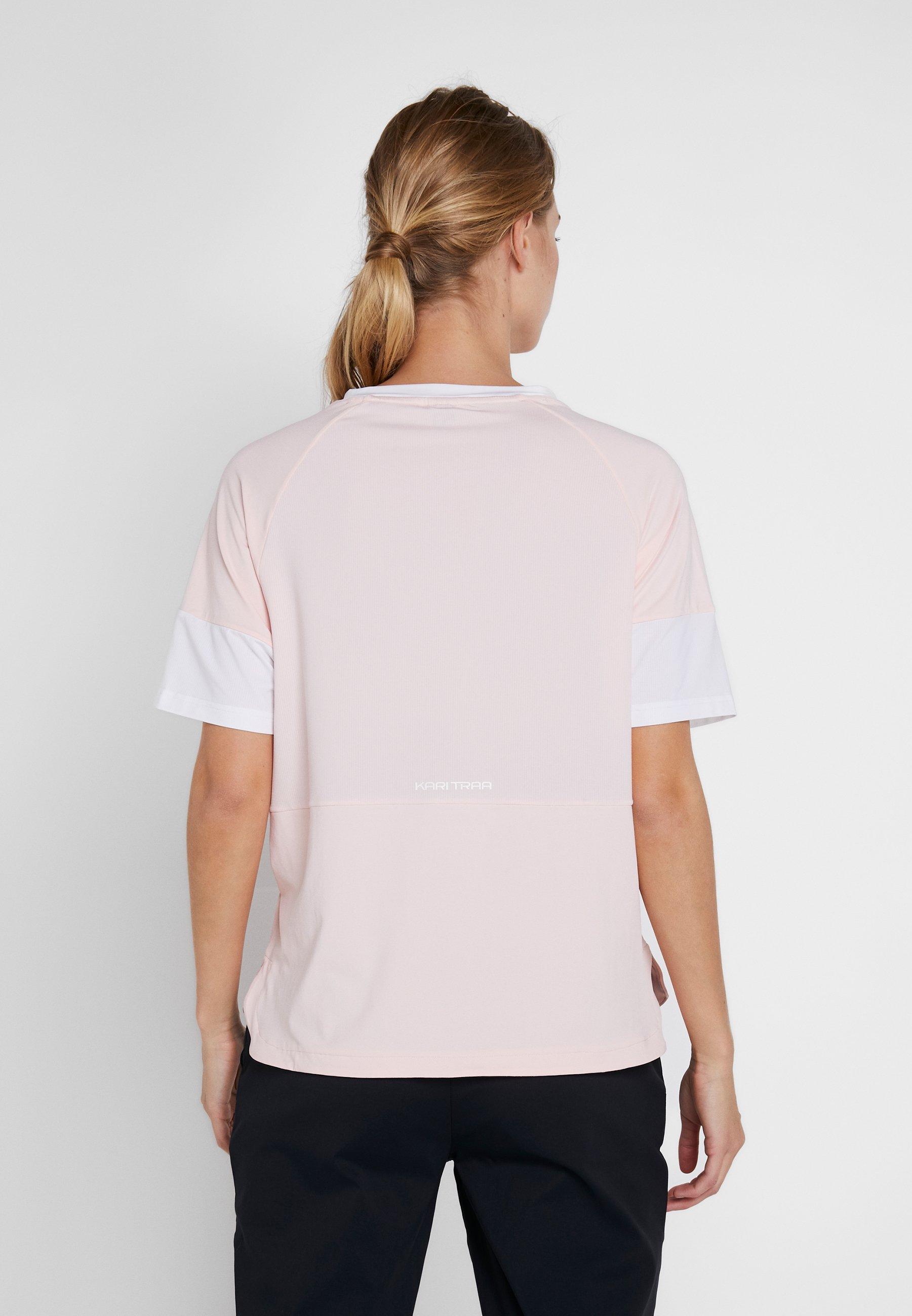KariTraa MIA TEE - T-shirt z nadrukiem - flush