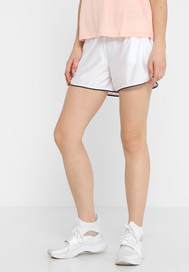SEIM SHORTS - Sports shorts - white