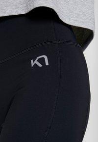 KariTraa - SOLVEIG  - Leggings - black - 3