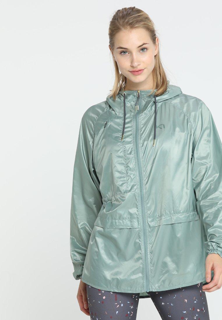 KariTraa - CELINA JACKET - Training jacket - thyme