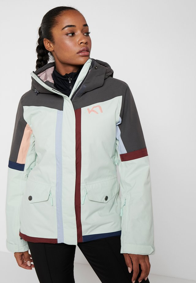 CORKSCREW JACKET - Ski jacket - minty
