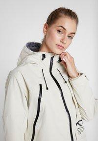 KariTraa - BAVALLEN JACKET - Waterproof jacket - white - 3