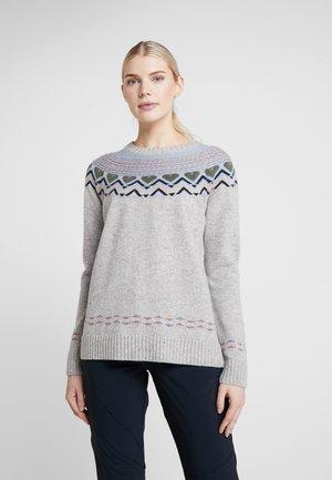 SUNDVE  - Sweter - grey