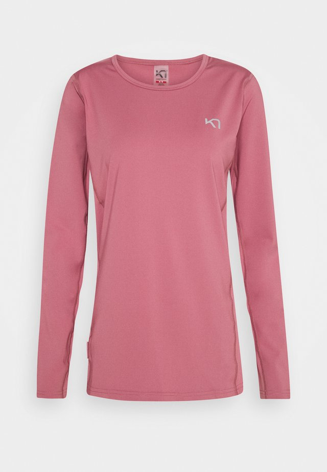 NORA - Long sleeved top - lilac