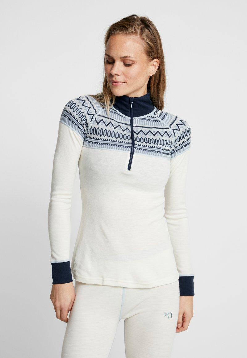 KariTraa - LØKKE - Sweter - off-white