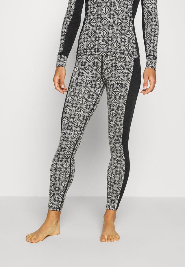 ROSE PANT - Pitkät alushousut - black