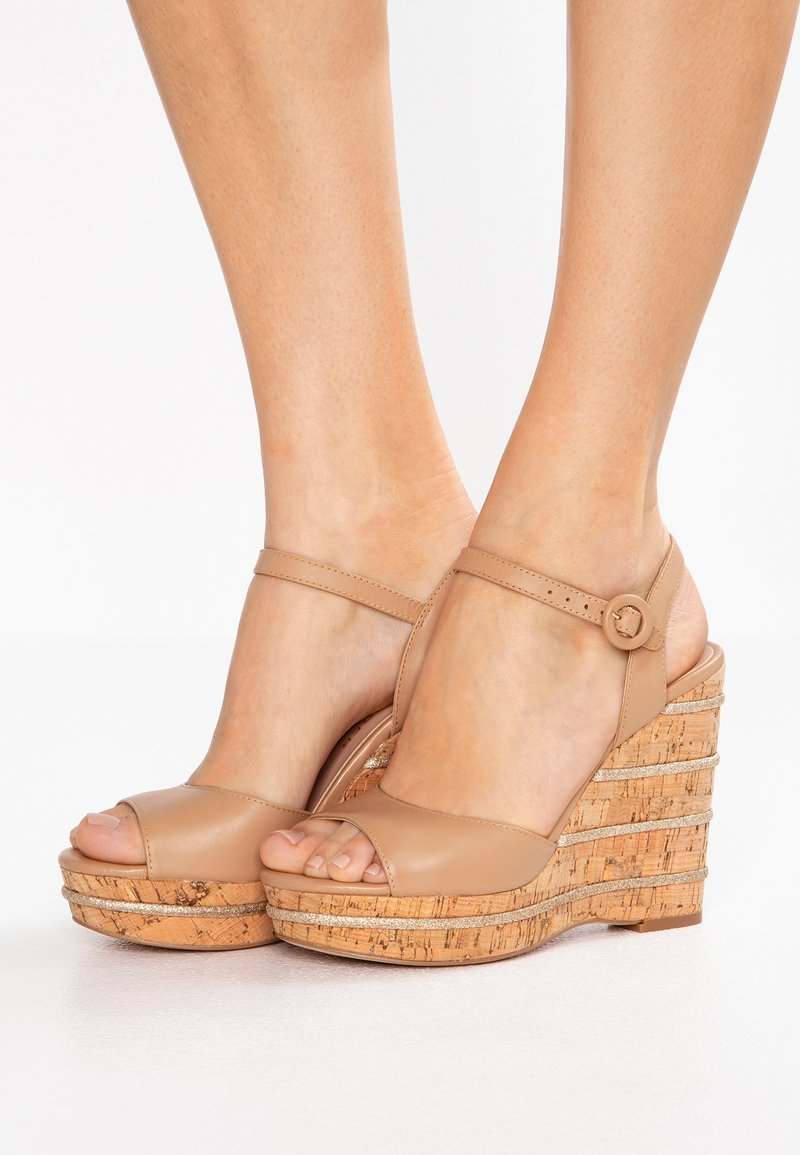 Kurt Geiger London - ALLY - Højhælede sandaletter / Højhælede sandaler - tan