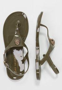 Kurt Geiger London - MADDISON - T-bar sandals - khaki - 3