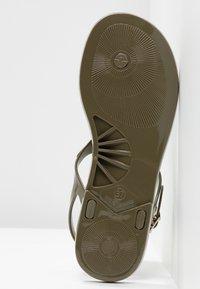 Kurt Geiger London - MADDISON - T-bar sandals - khaki - 6