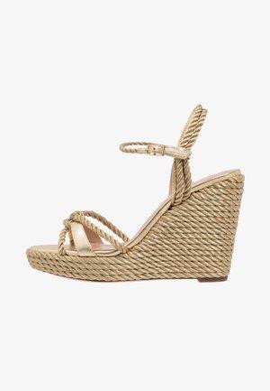 NEILE - High Heel Sandalette - gold