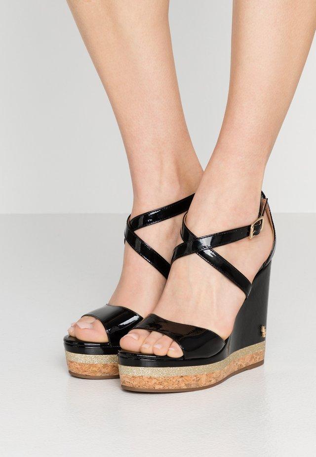 ALINA - High Heel Sandalette - black