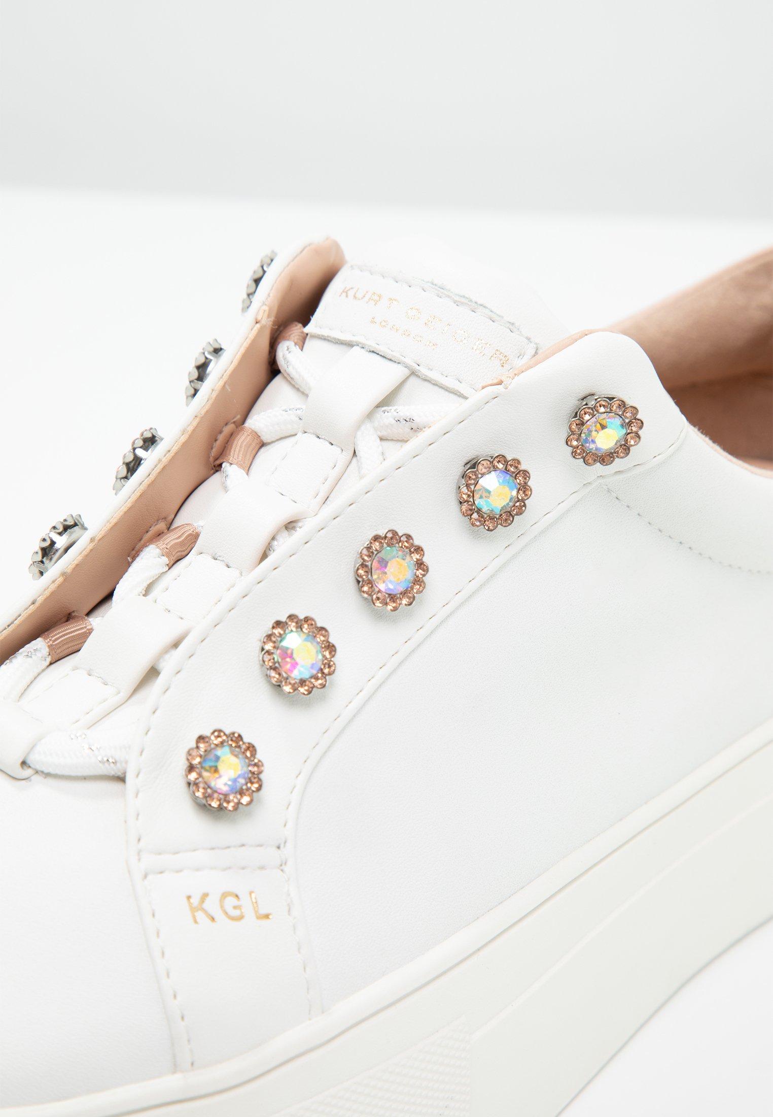 Kurt Geiger London LIVIAH - Sneakersy niskie - white