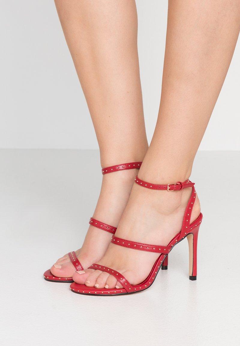 Kurt Geiger London - PORTIA - High heeled sandals - red