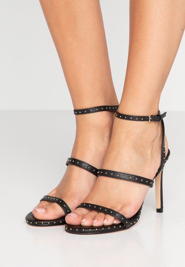 PORTIA - High heeled sandals - black