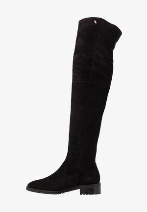 RIVA - Overknees - black